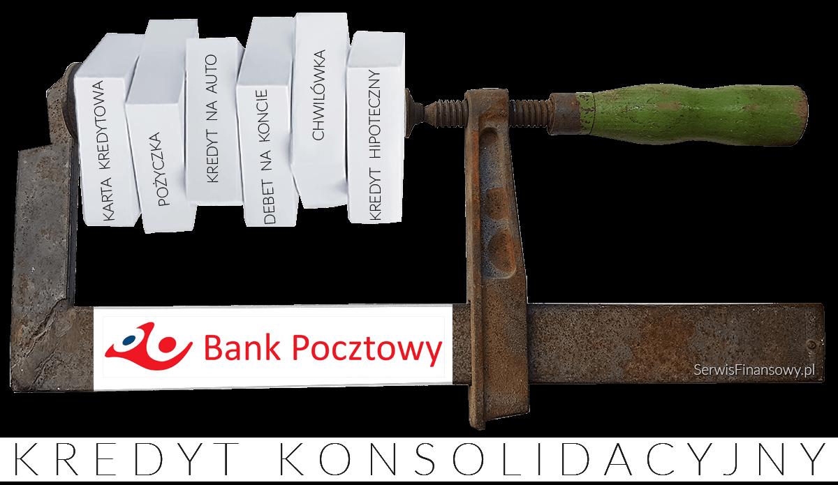 kredyt konsolidacyjny Bank Pocztowy, konsolidacja