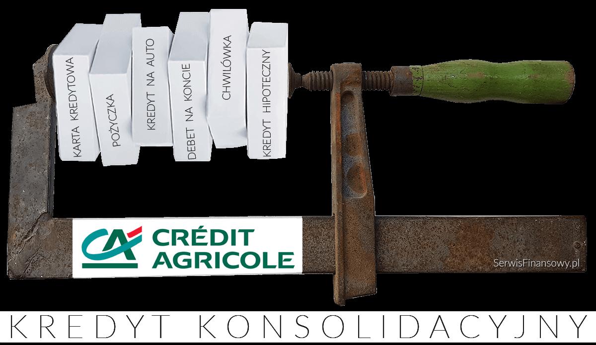najlepszy kredyt konsolidacyjny credit agricole