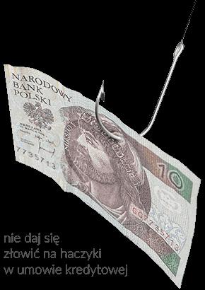 kredyt gotówkowy haczyki