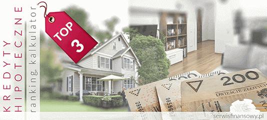 kredyt hipoteczny - ranking, kalkulator - na dom, mieszkanie